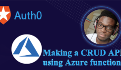 Making a CRUD API using Azure Functions