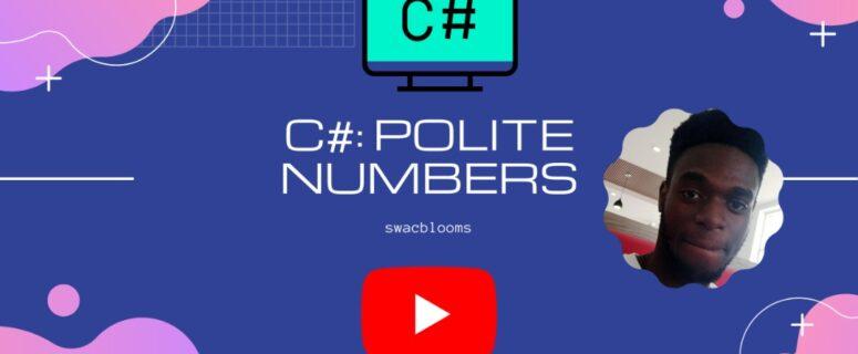 politenumbers